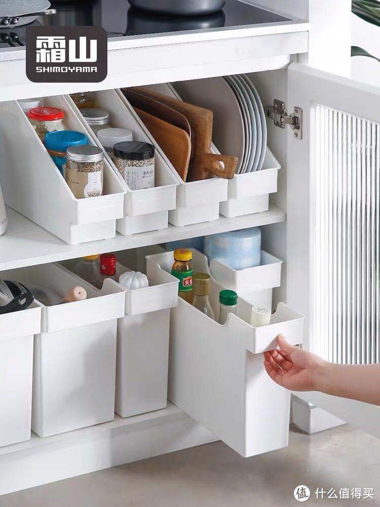 推荐一个便宜好用颜值高的厨房收纳箱