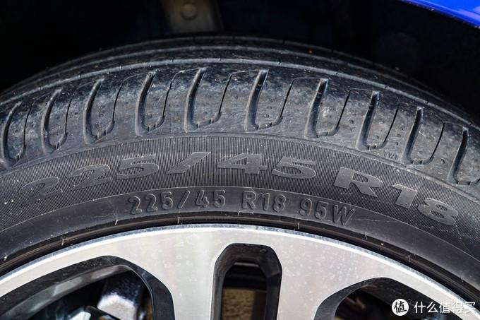 18寸轮毂搭配车身尺寸刚好