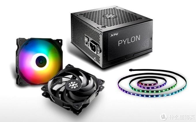 ADATA威刚 发布PYLON系列铜牌电源、VENTO系列风扇和PRIME ARBG LED灯带