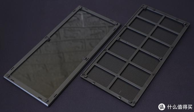 分形工艺(Fractal Design) Era ITX机箱 玻璃、金属网上盖 磁吸框架