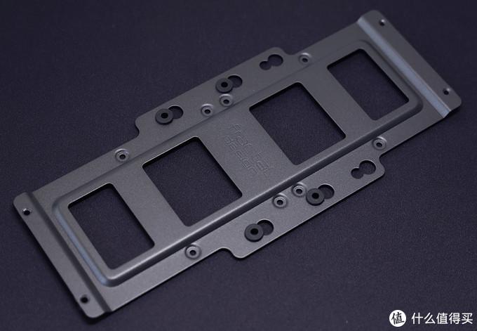 分形工艺(Fractal Design) Era ITX机箱 2.5/3.5英寸硬盘安装架(置于主板位上方)