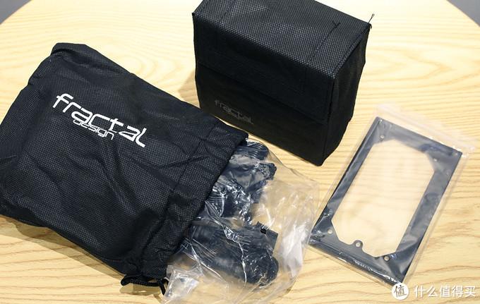 分形工艺(Fractal Design) ION SFX-L电源 配件一览