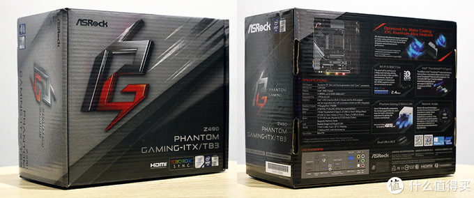华擎 Z490 Phantom Gaming-ITX/TB3 外包装