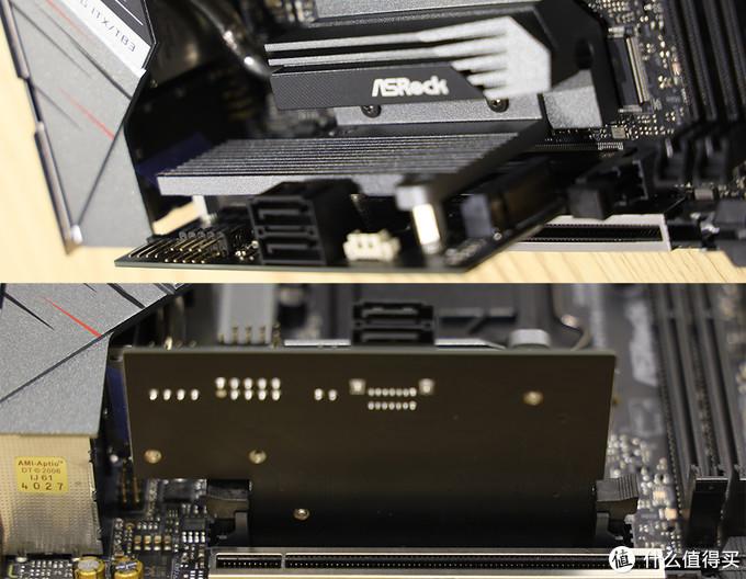华擎 Z490 Phantom Gaming-ITX/TB3 垂直M.2安装架