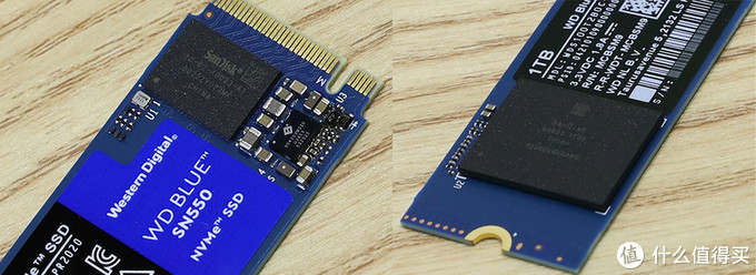 西部数据 WD Blue SN550 细节