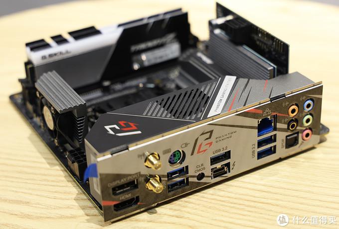 华擎Z490 Phantom Gaming-ITX/TB3 存储类产品匹配效果②