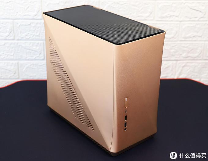 10代酷睿ITX平台 主机金属网上盖适配效果