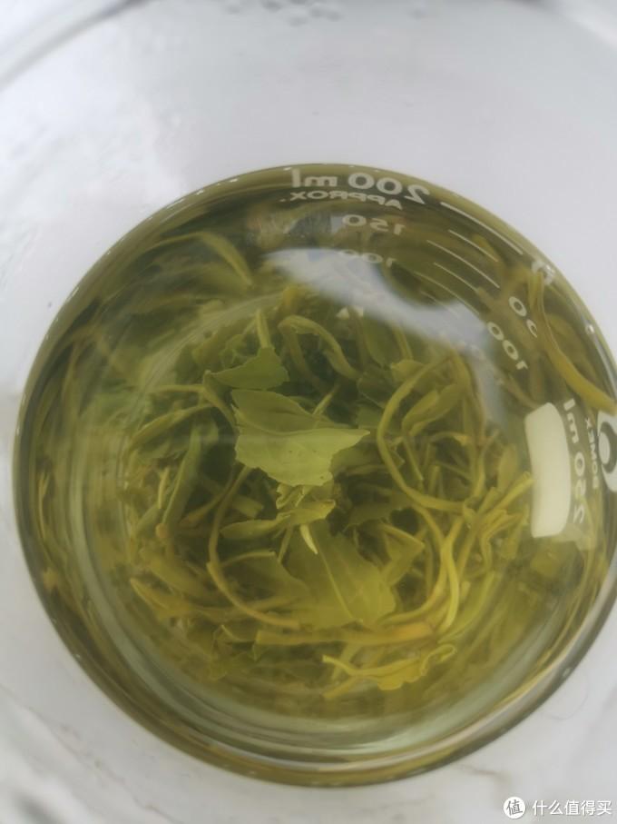 京东前三名定价二百一斤的碧螺春评测。