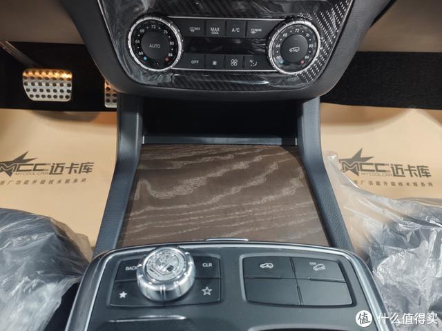 奔驰GL450白杨木改岑木内饰,更显沉稳