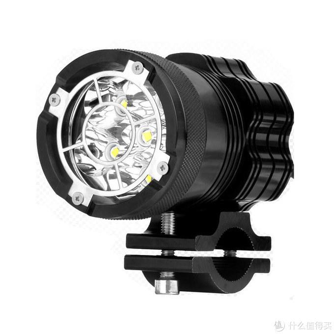 摩托装LED射灯,夜间出行安全更有保障