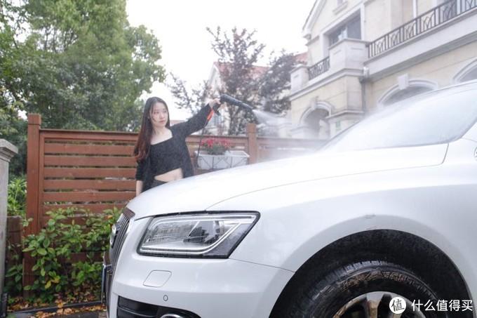 洗车威力大