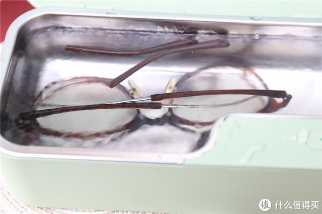 眼镜清洗新工具,固特超声波清洗机GT-X1体验