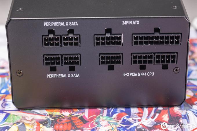 输出接口,可以看到CPU和显卡供电只有3个,如果是CPU和显卡同样是8pin以上供电,就需要转接线了
