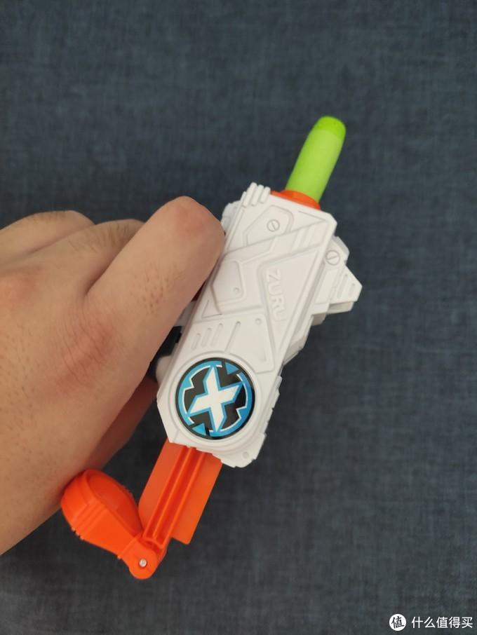 软弹发射器 艾力达 星兽猎人2 DX暗月星能发射器、ZURU X特攻非凡系列迷你发射器