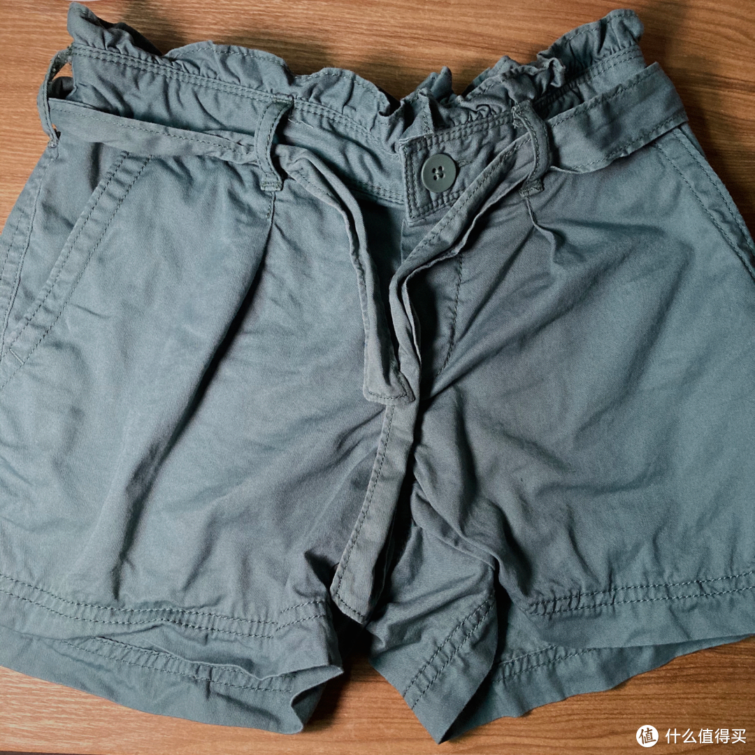 Gap女童亚麻舒适短裤开箱分享