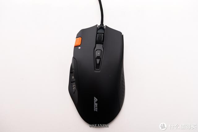 战场上技高一筹:黑爵AJ337游戏鼠标