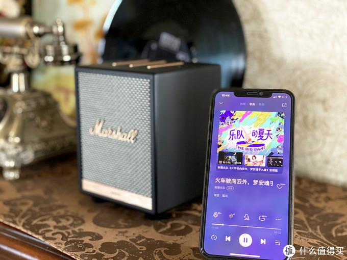 在家就能燥起来的摇滚现场感,Marshall Uxbridge智能音箱测评