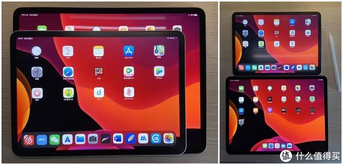 iPad Pro11寸和12.9寸对比