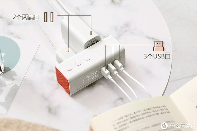 公牛推出床头充电插座,集成闹钟与USB输出时尚又实用