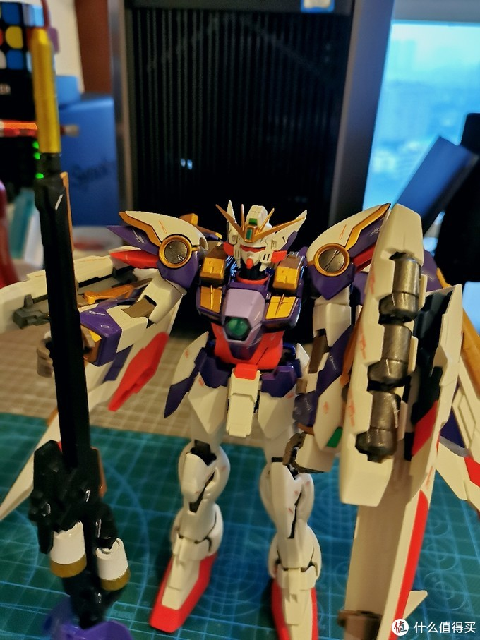 给飞翼换个颜色,万代MG版飞翼高达EW Ver.Ka 涂装改色作业