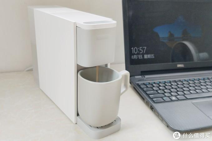 米家胶囊咖啡机,配心想甄选胶囊,几块钱就能萃取一杯高品质咖啡