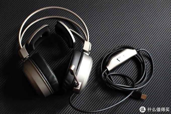 听音辨位,轻松吃鸡:雷柏VH610耳机开箱玩