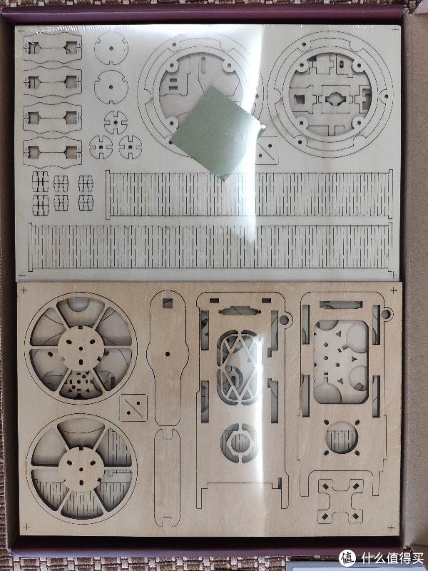 果壳出品老式放映机木制立体拼插玩具简单开箱