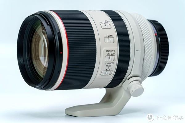 纯侧面:传统的几个功能按钮+RF镜头新增的尾部的控制环