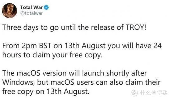 Epic明天免费领《全面战争传奇:特洛伊》 手把手教你如何领!