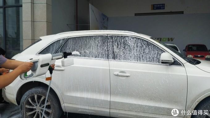低压档用打沫冲洗整车