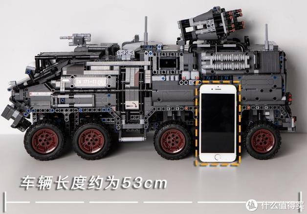 小米十年终对乐高下手,2800零件造大G,复刻「流浪地球」装甲车