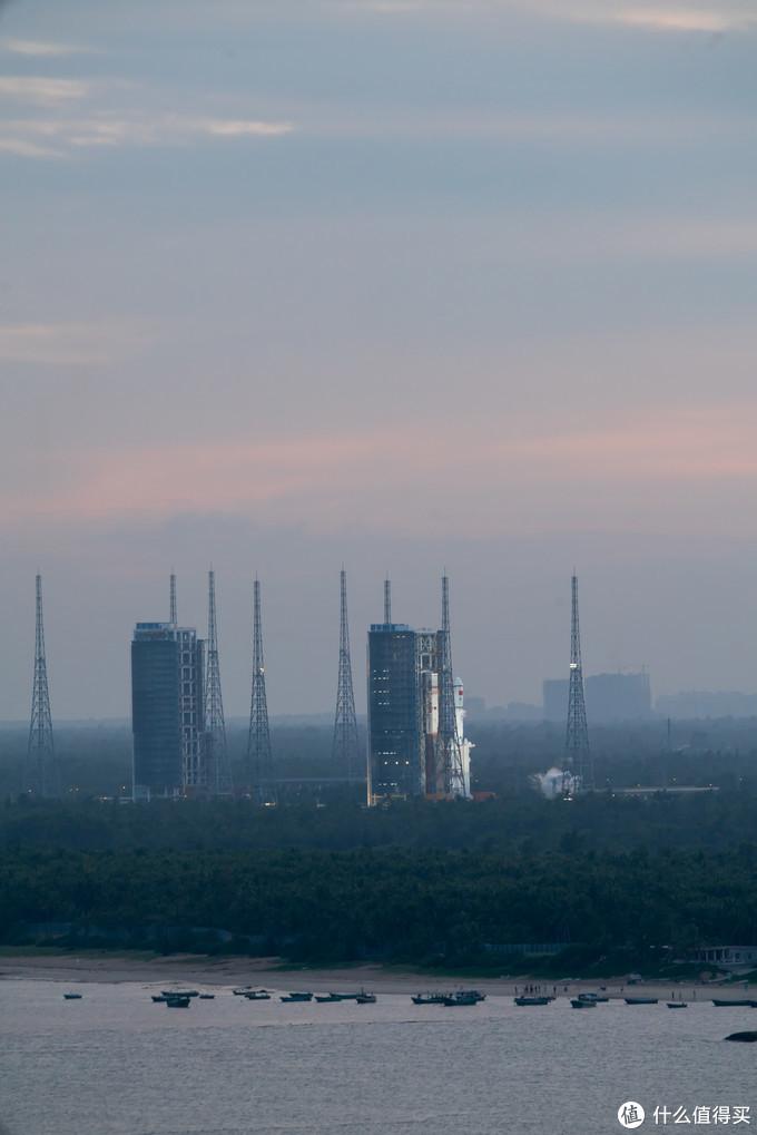 向星辰大海出发——A7R4拍摄天问一号发射