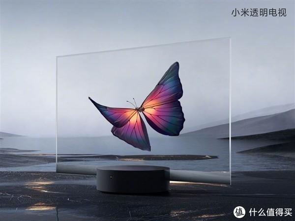 全球首款量产透明电视——小米透明电视上手体验~