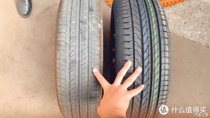车友换的185的胎,抓地力和刹车有很大改观,但是缺点是续航会减少大概十几公里