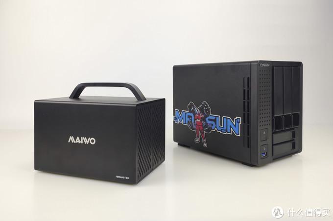 外置文件储存,选NAS还是DAS?——麦沃K35274D硬盘柜晒物