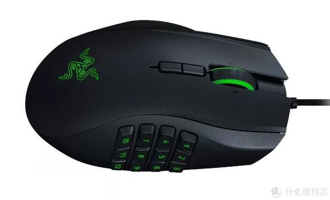 左撇子MMO玩家福音:Razer雷蛇 发布新Naga那伽梵蛇左手版2020款鼠标