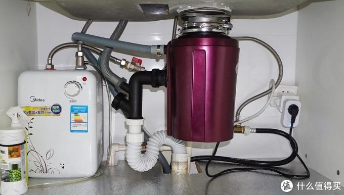 已装修厨房,洗碗机、垃圾处理器进、排水安装经验分享及RO反渗透净水器展望