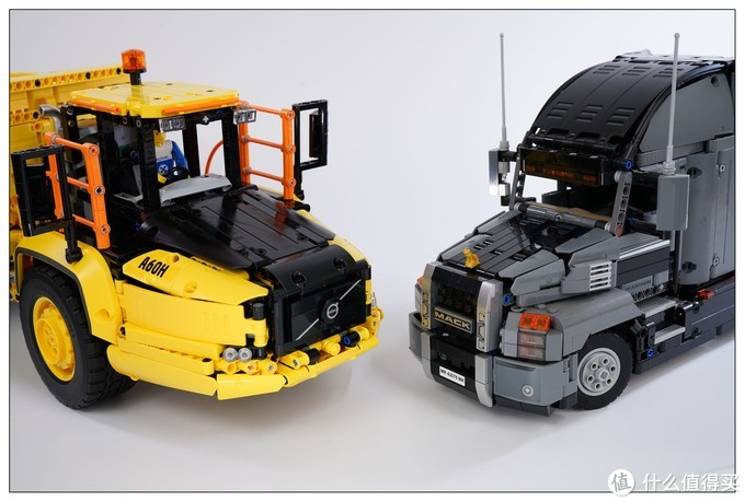 乐高 LEGO 42114 沃尔沃铰接式卡车详细评测(百图杀猫)