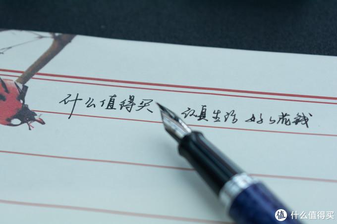 日系入门平价钢笔初体验,PILOT百乐紫色豹纹 MR2 钢笔套装简评