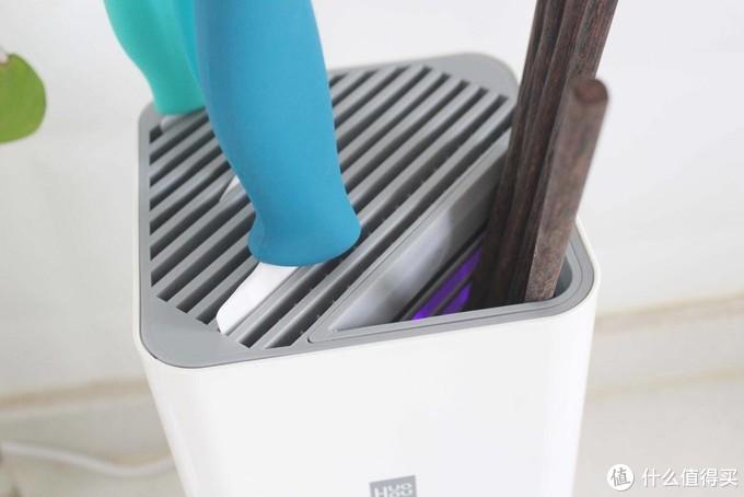 如何改善厨房用具的健康卫生难题?火候消毒刀筷架+陶瓷刀体验