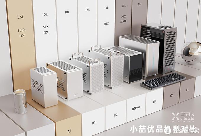ITX机箱 小喆B2-plus 240一体水冷微星B450i非常适合超内存分享,不再迷恋大机箱
