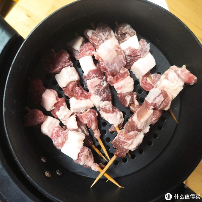 肉质鲜嫩,性价比高~ 京东生鲜大促入手,首食惠 新西兰羔羊肉串家庭装 晒单~