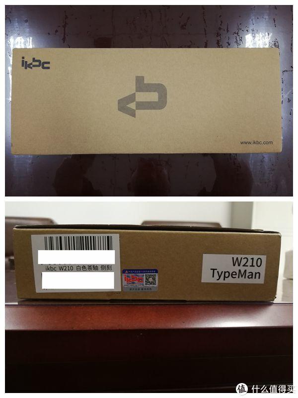 ikbc W210 侧刻机械键盘 2.4G无线茶轴 晒单