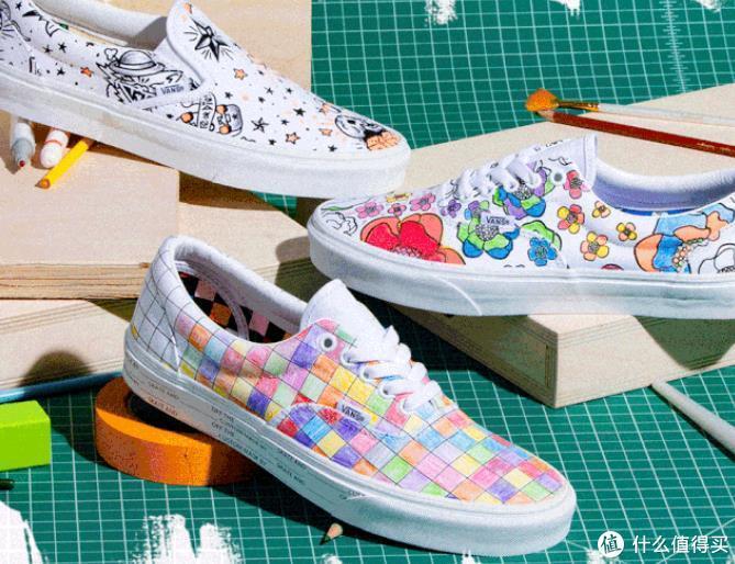 填色游戏?Vans U-Color定制系列 鞋包 陆续发售
