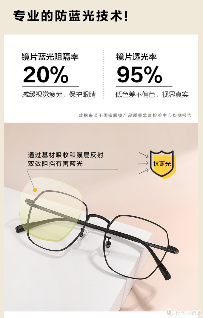 让用眼更轻松一些——【柠檬39003专业防蓝光眼镜】使用体验