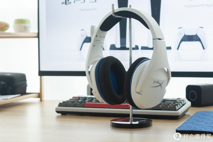 迎接PS5,更新个游戏耳机先?白色HyperX 毒刺灵动无线耳机开箱