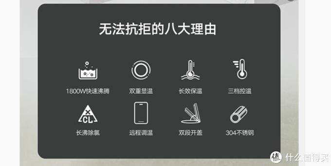 快速、保温、智能、屏显——荣耀亲选施铂智能恒温电热水壶