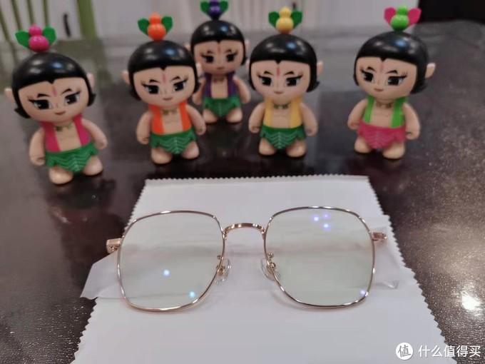 眼保健操没做好,眼睛保护少不了---柠檬防蓝光眼镜