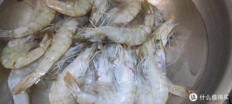 我的拿手菜~非常值~京东生鲜网购的白虾~味道好极了