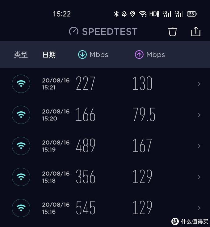 wifi5全屋网络情况